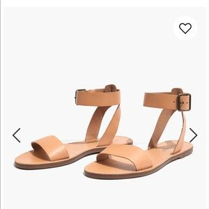 Madewell Boardwalk ankle strap sandals